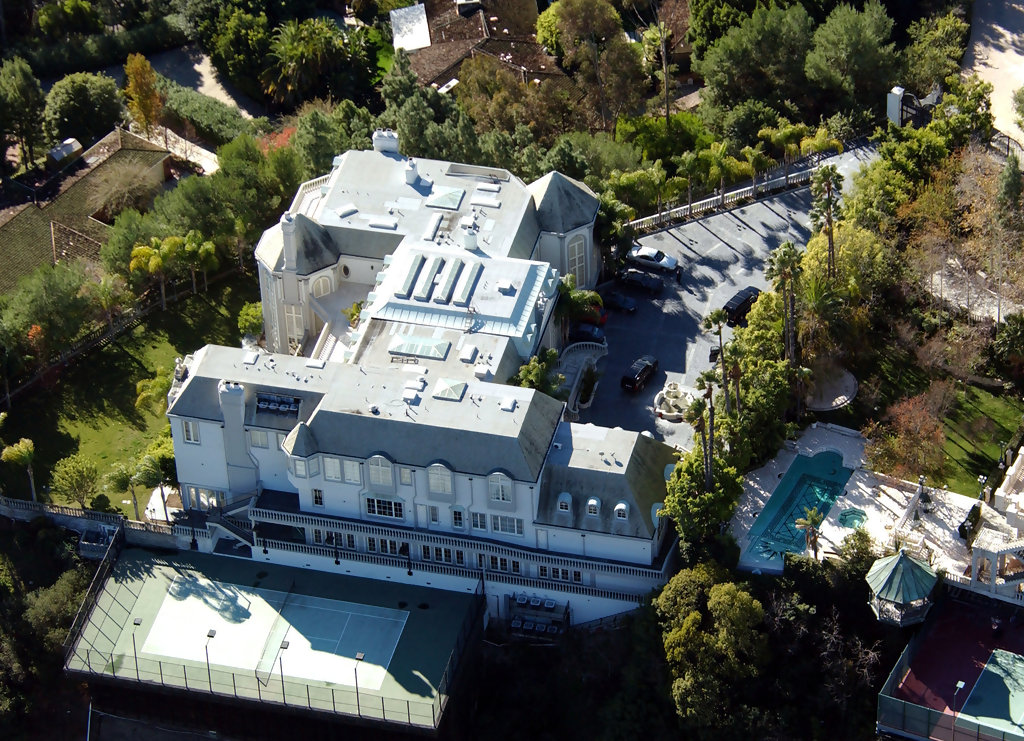Michael Jackson Beverly Hills Celebrity Homes Lonny
