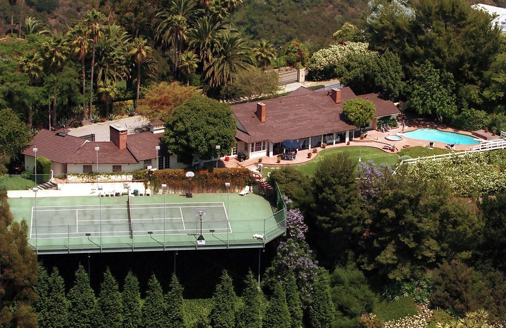 Adam Sandler (Bel Air) - Celebrity Homes - Lonny