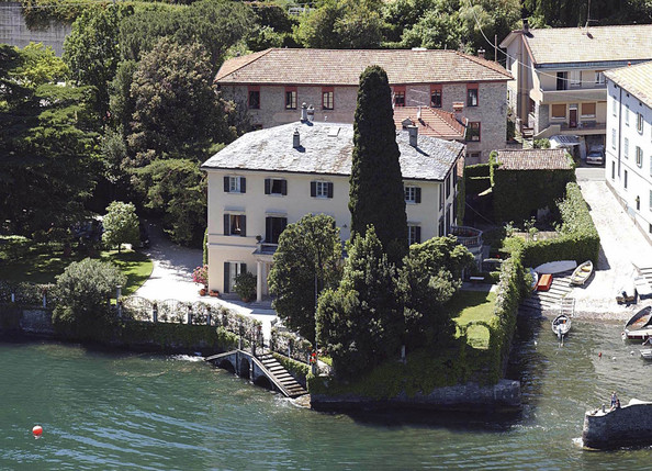 photo: house/residence of sexy fun talented  180 million earning Laglio, Italy-resident