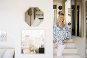 Tobi Tobin in her Malibu cottage