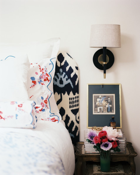 Ikat Headboard Photos (1 of 1)