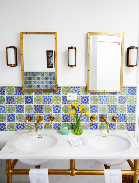 Bohemian Bathroom Photos (25 of 45) []