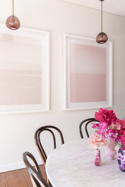 Pink Dining Room Photos (9 of 70)