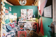 Designer Jamie Meares' office space