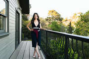 Actress Katie Lowes on her Hollywood terrace