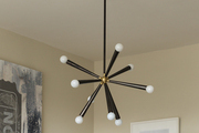Modern ceiling light in a contemporary room