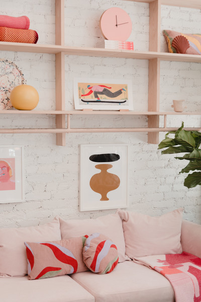 Pink Sofa Photos (4 of 13) []