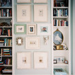 Between Bookcases