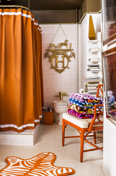 Incorporating Color In The Bathroom Color Ideas 2014 Lonny