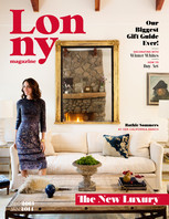 The December-January issue of Lonny is an ode to modern luxury, from a California coastal escape to a comprehensive gift guide with goods at every price point.