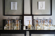The perfumery at Coqui Coqui in Valladolid, Mexico.