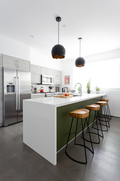White And Green Kitchen Counter Photos 1 Of