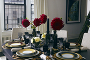 A festive dining table designed by Jung Lee