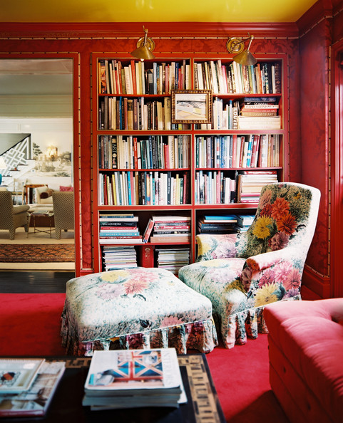 Red Bookcase Photos (1 of 1) []