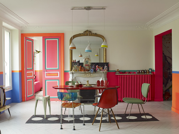 Fearlessly Fluorescent: Decorating with Designer Manish Arora