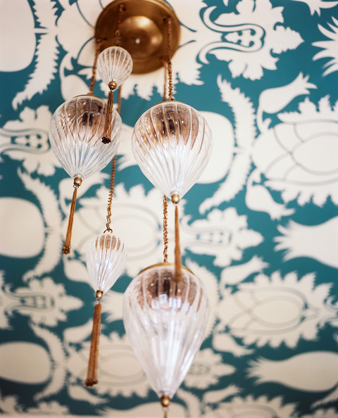 Wallpapered Ceiling Photos (1 of 5)