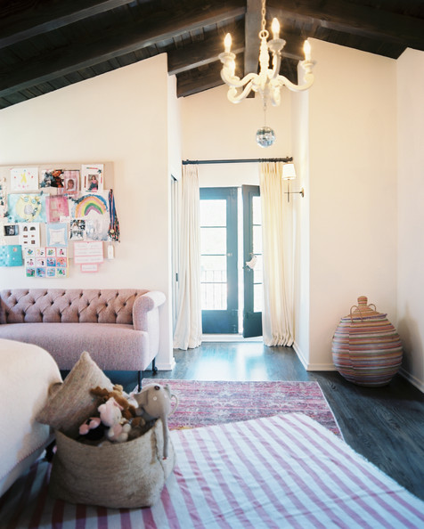Home Interior Bedroom Pretty Bedroom Ceiling Lights Classic Black And White Bedroom Slanted Ceiling Bedroom Ideas: Pink Bohemian Photos (35 Of 47)
