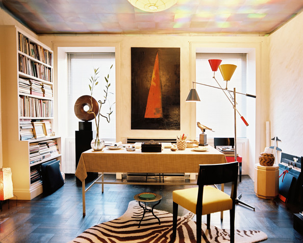 Eclectic Modern Work Space