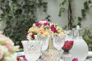 A French traditional outdoor tablescape