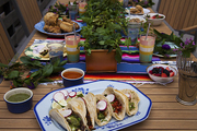 An eclectic spread to celebrate Cinco de Mayo and the Kentucky Derby