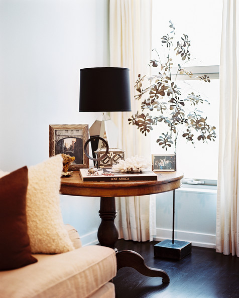 Tree sculpture photos design ideas remodel and decor for End table decorating tips
