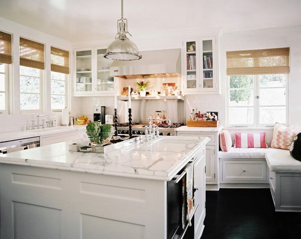 White Kitchen Cabinets Photos (21 of 25) []