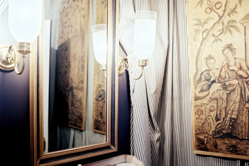 Small-Space Decorating Tip: Opt for Sconces