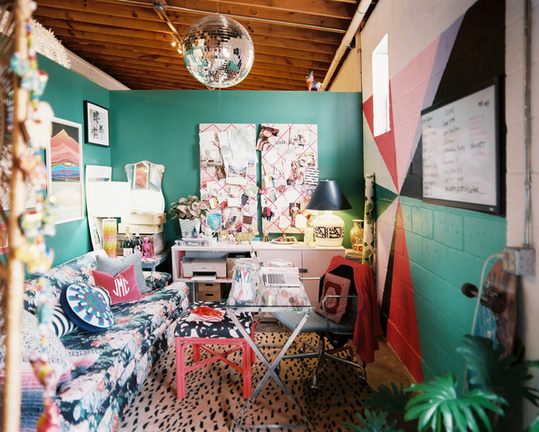 Work Space - Designer Jamie Meares' office space