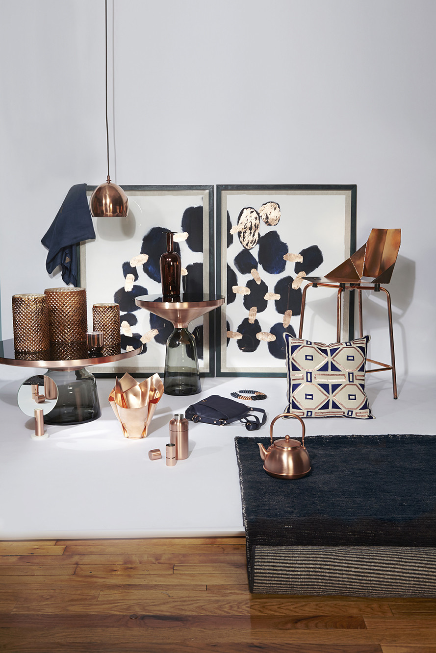 Copper And Navy Photos, Design, Ideas, Remodel, And Decor   Lonny