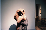 Cousins, a soft sculpture by Dorothea Tanning, in Houston's Menil Collection