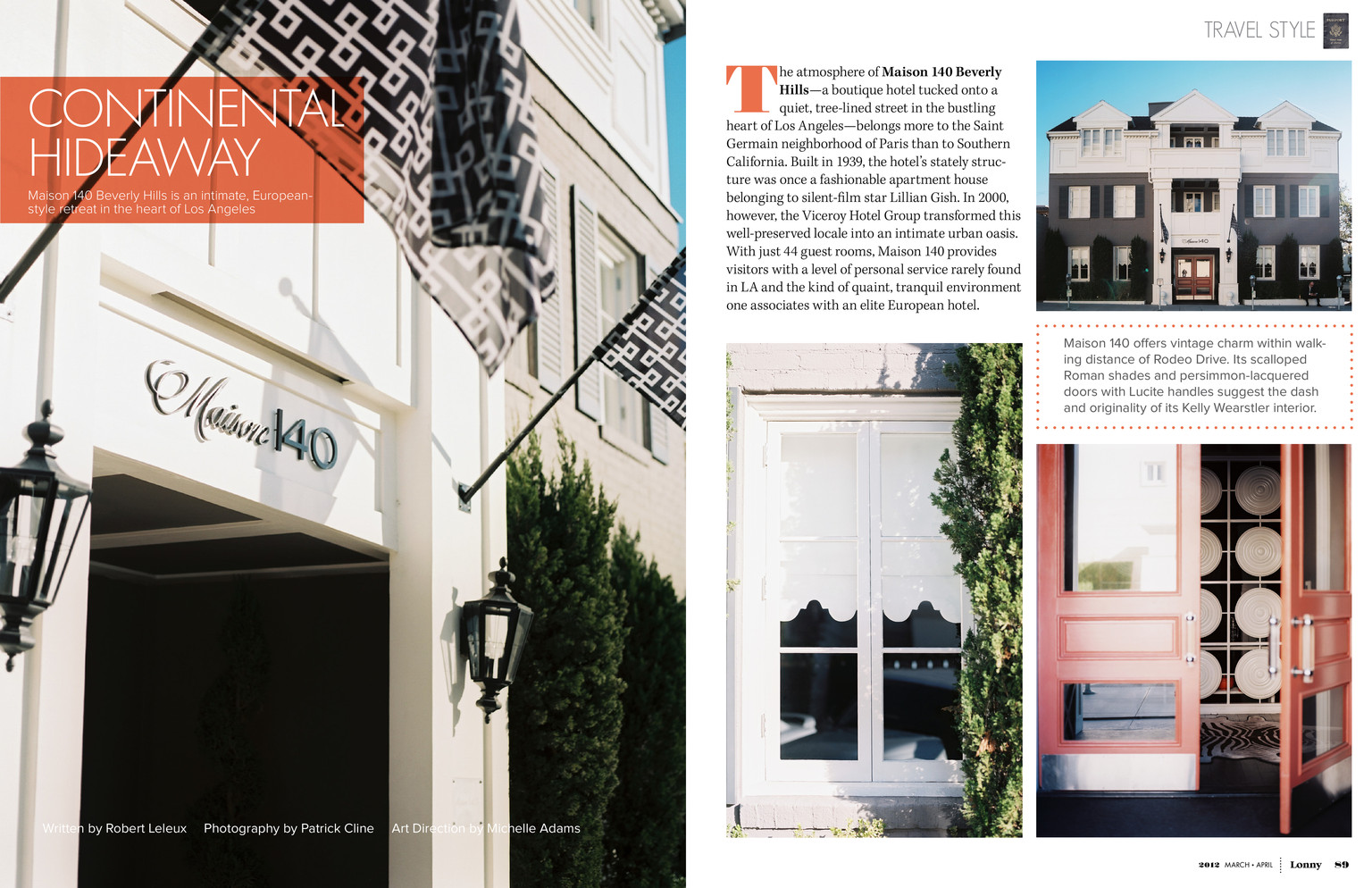 March april 2012 lonny magazine lonny for 140 maison beverly hills