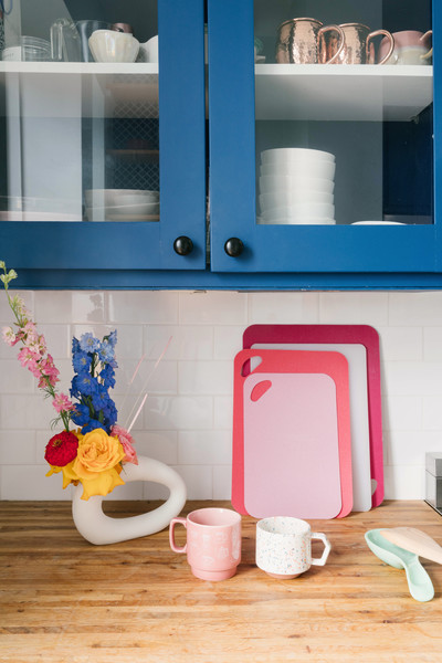 Blue Cabinets Photos (1 of 14) []