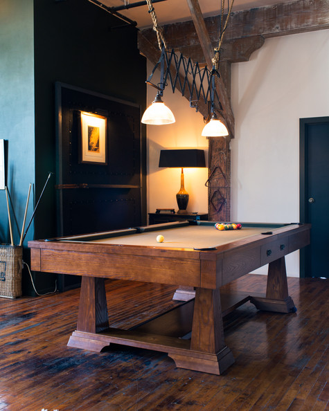 Pool table photos design ideas remodel and decor lonny pool table photos 1 of 14 keyboard keysfo Images