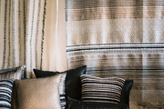 Neutral-hued textiles