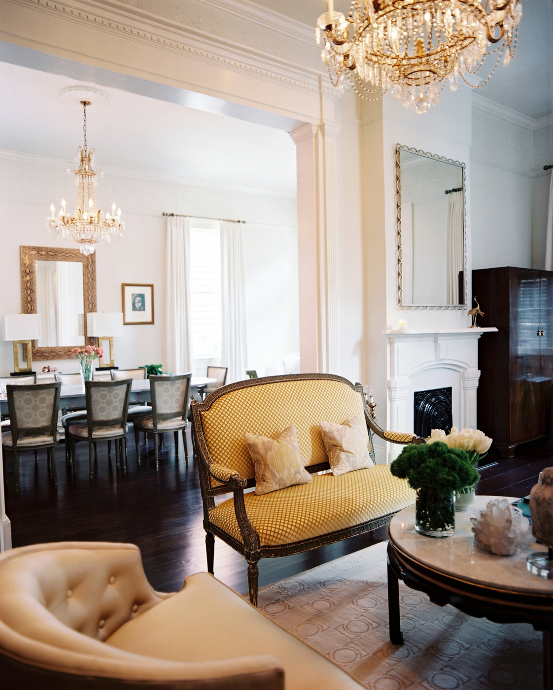 French Dining Room Photos (40 Of 44