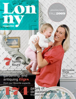 The premiere issue of Lonny Magazine offers 174 pages of decorating ideas.