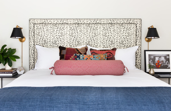 Patterned Headboard Photos (1 of 3)