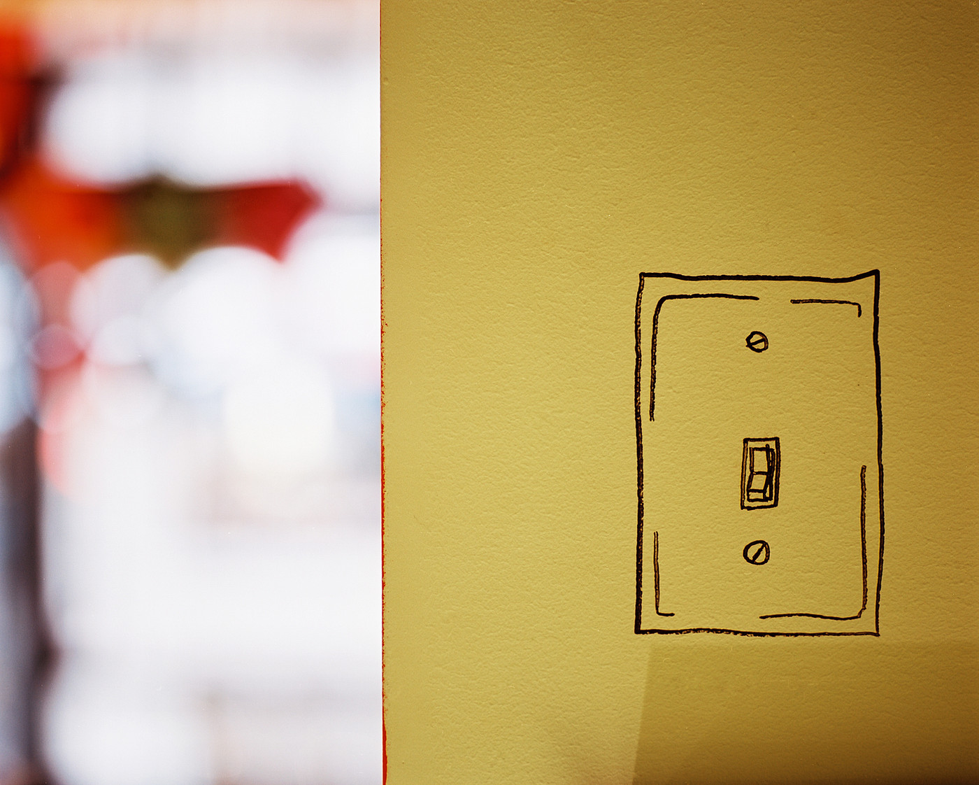 Add a Light Switch (and a Sense of Humor) - 15 of Our Favorite Paint ...