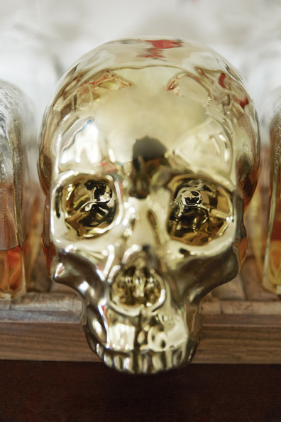 Gold Skull Photos 1 Of