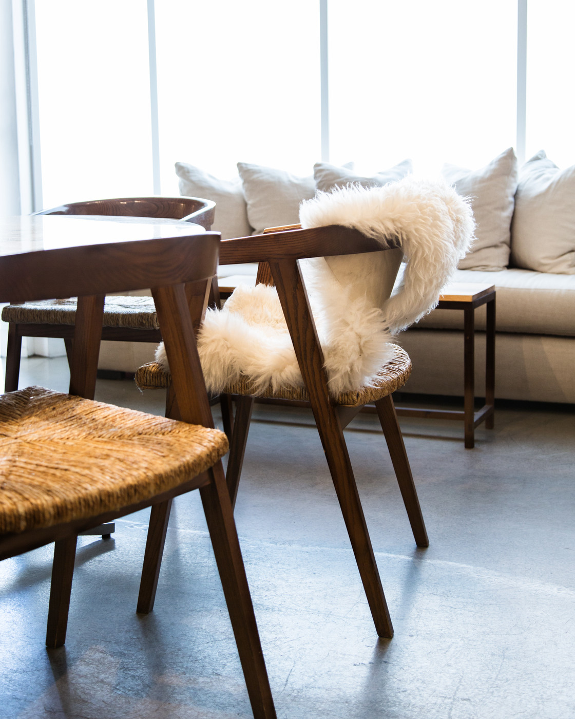 Fur throws | Lonny.com