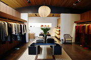 The interiors at Jenni Kayne's West Hollywood boutique