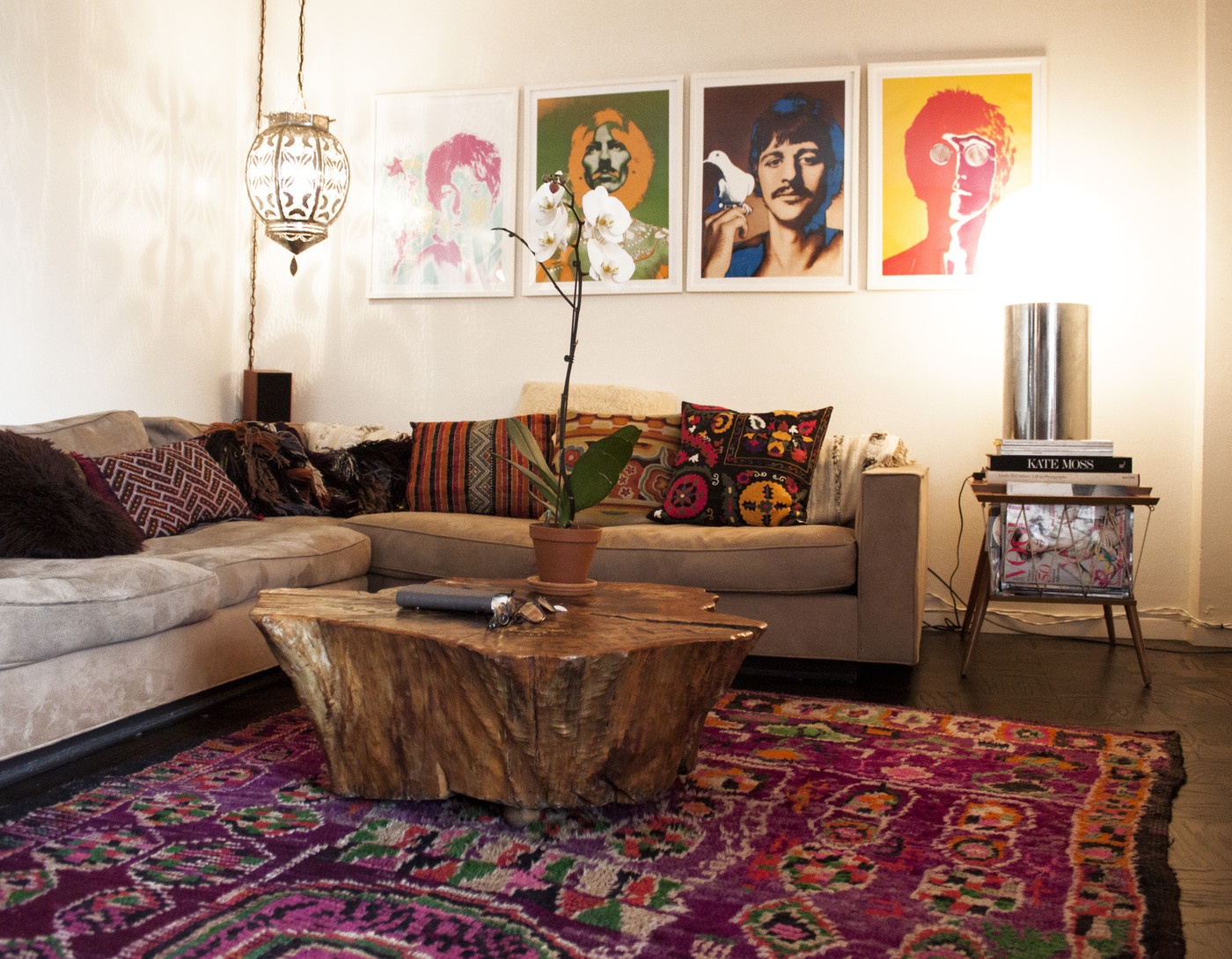 Picture of: Bohemian Coffee Table Photos 22 Of 25