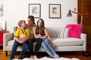 A family at home in Brooklyn