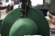 A green hat gets the final touch