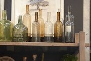 Glassware, table linens, and other accessories for sale at Napa Valley's Poor House