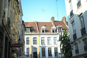 Views of the architecture of Lille, France