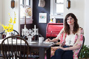 Designer Ruthie Lindsey in the dining room of her Nashville, Tennessee, home