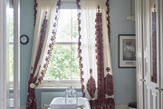 """""""Lying in the bath looking out onto the pear trees is my idea of heaven,"""" says FitzGerald."""