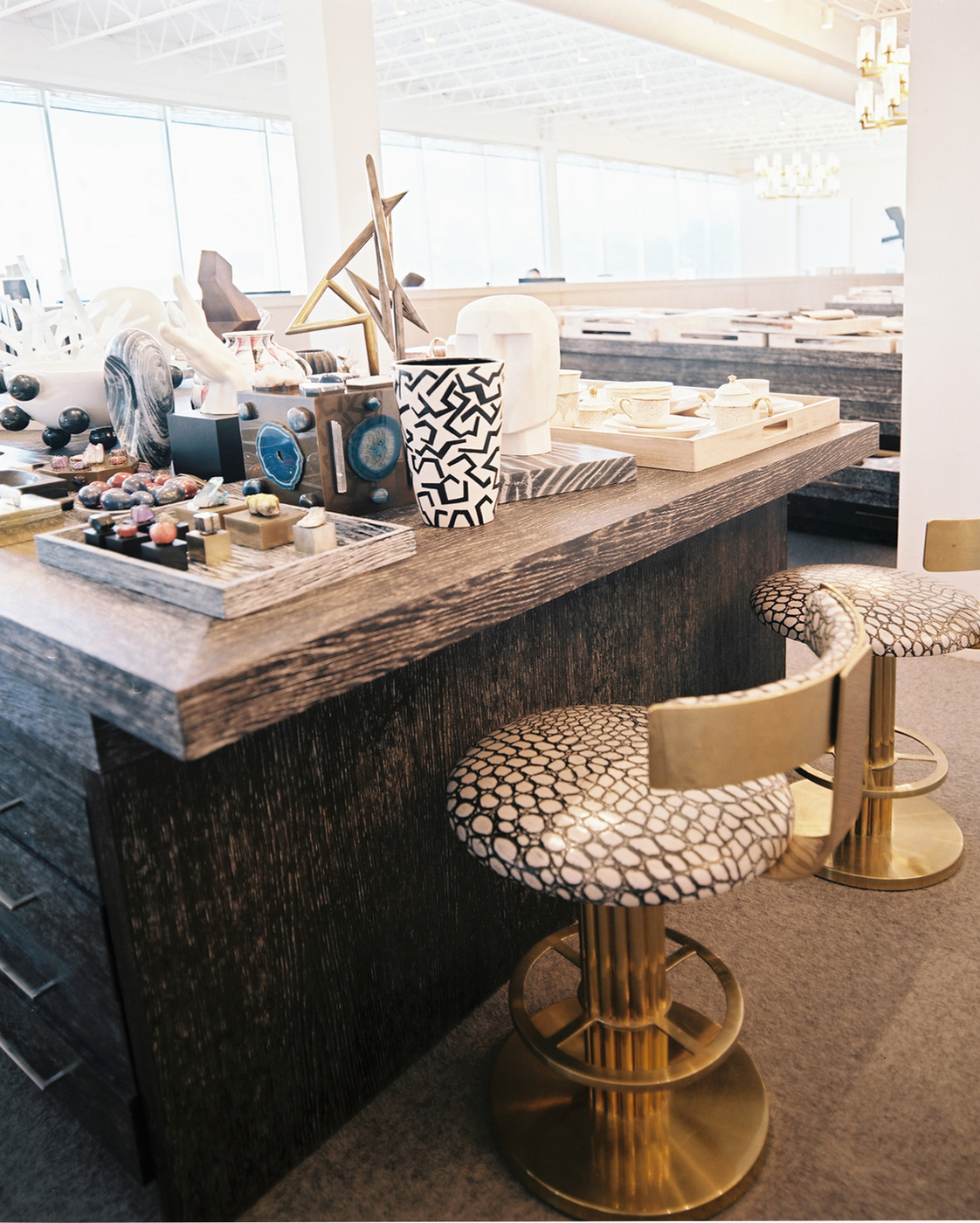 Patterned Bar Stools Magnificent Decorating