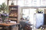 Rustic yet polished merchandise displays at Napa Valley's Poor House
